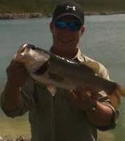 A photo of Kyle Hitt's catch