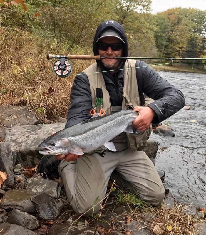 A photo of Edward Payne's catch