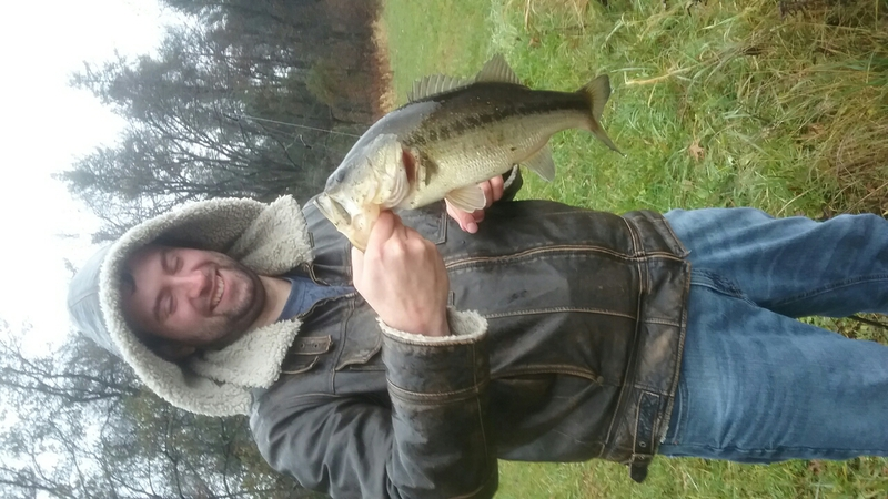 A photo of Dennis Rhinehart's catch