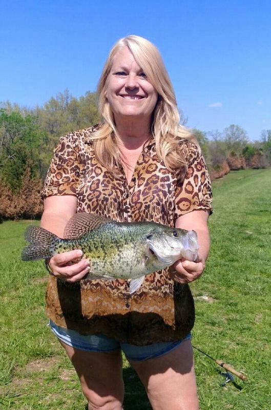 A photo of Debbie Ferguson's catch