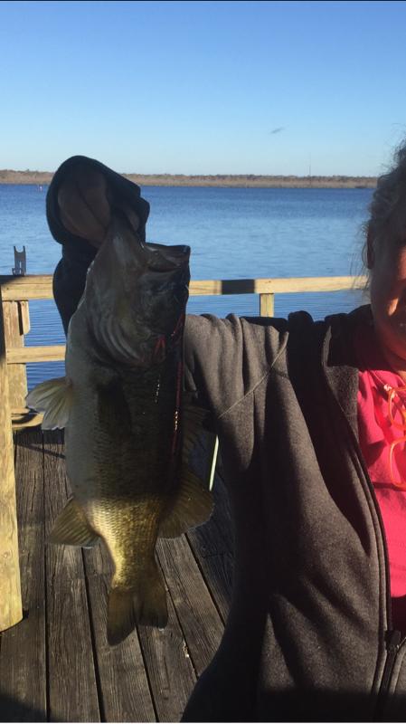 A photo of Tim Drawdy's catch