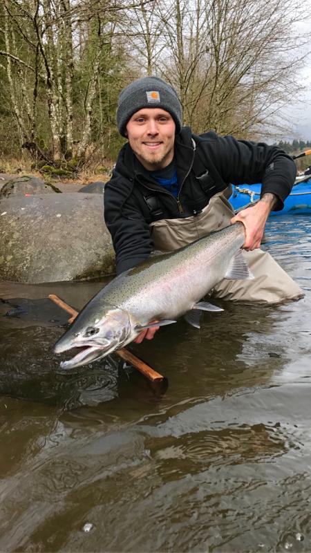 A photo of Sean Schrader's catch