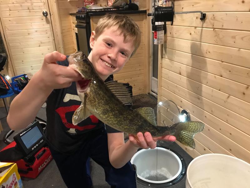 A photo of Alec Peterson's catch