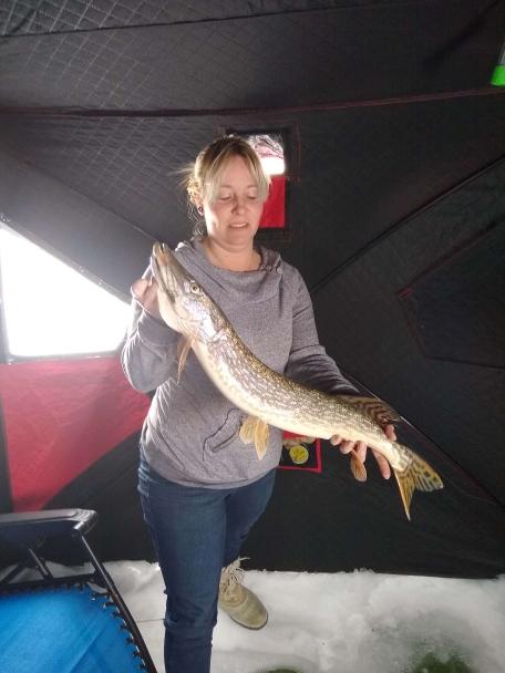 A photo of Jennifer Collins's catch