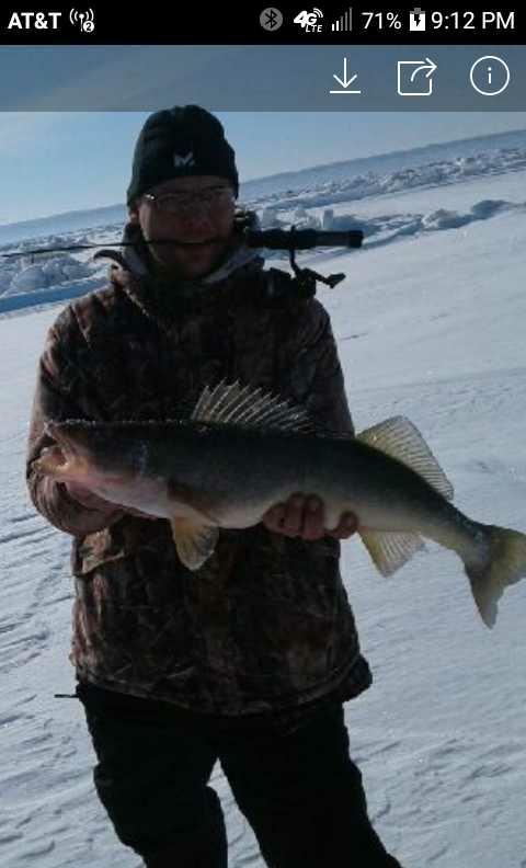 A photo of Ryan Jackson's catch