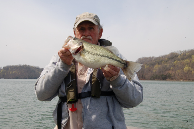 A photo of earl outland's catch