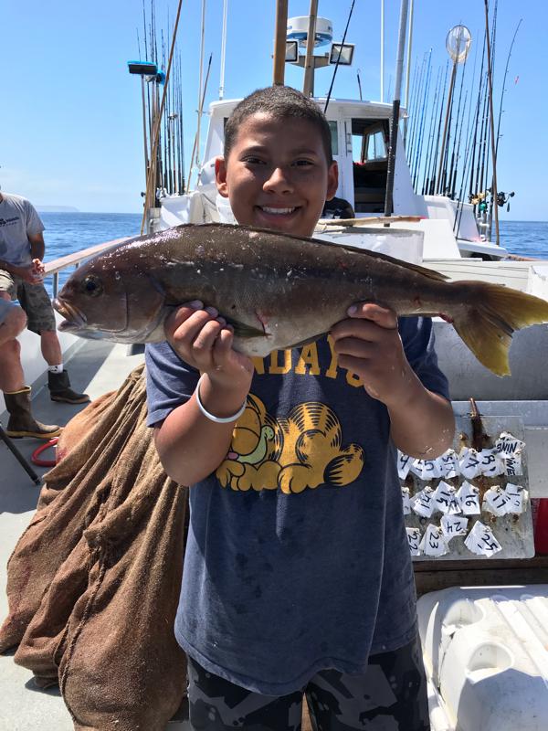 A photo of tremaine larkin's catch