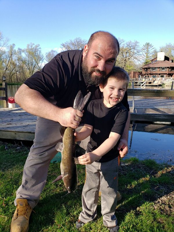 A photo of Brian Mueller's catch