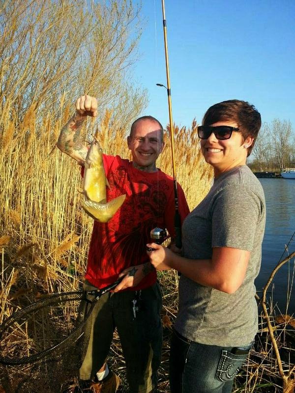 A photo of Daniel Nagy's catch
