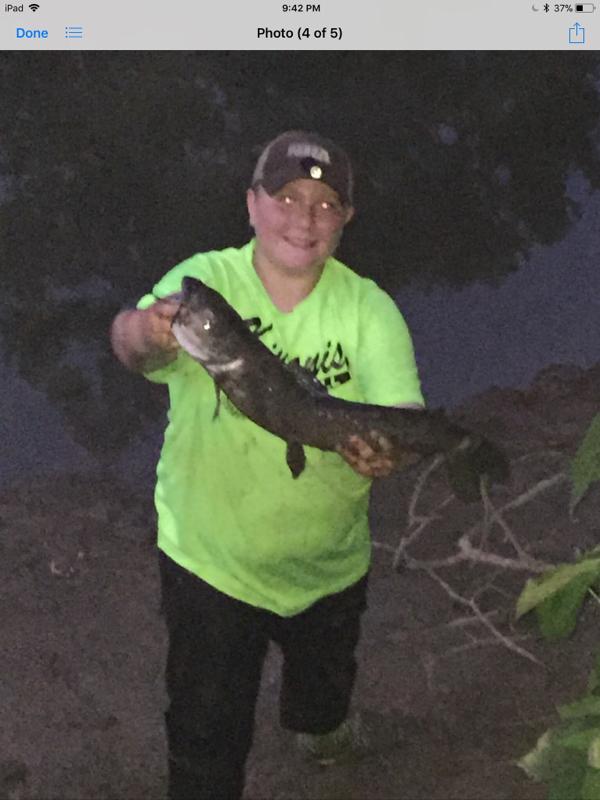 A photo of Weston Garey's catch