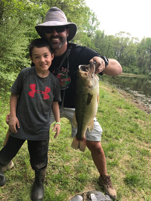 A photo of Joe Tuohey's catch