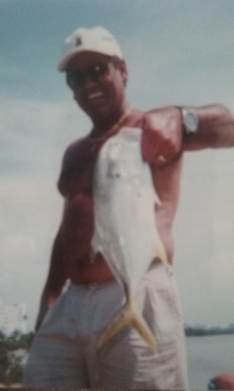 A photo of Aldo Rosado's catch