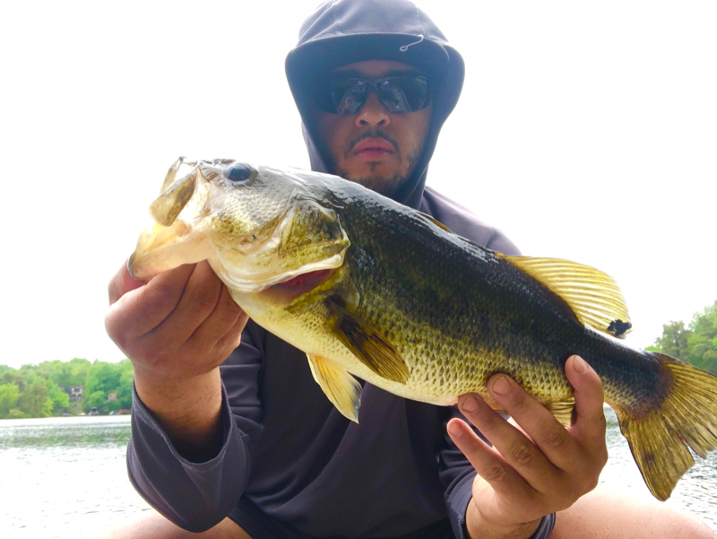 A photo of Kenneth Olivo's catch