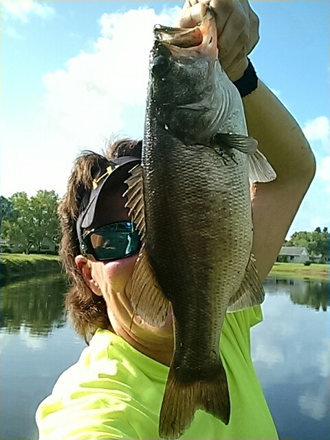 A photo of Melissa Norris's catch