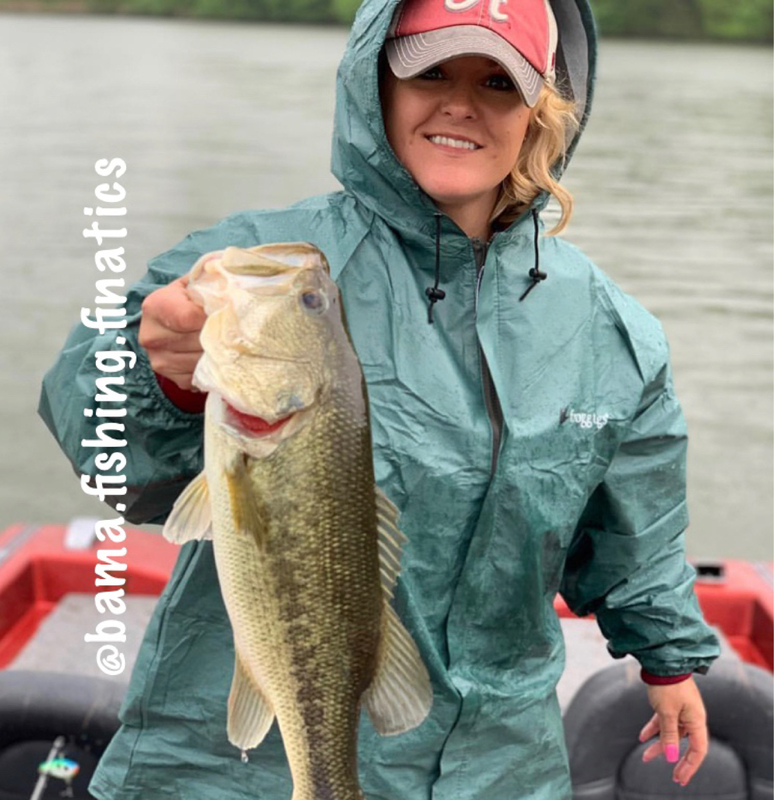 A photo of Melody Stilwell's catch