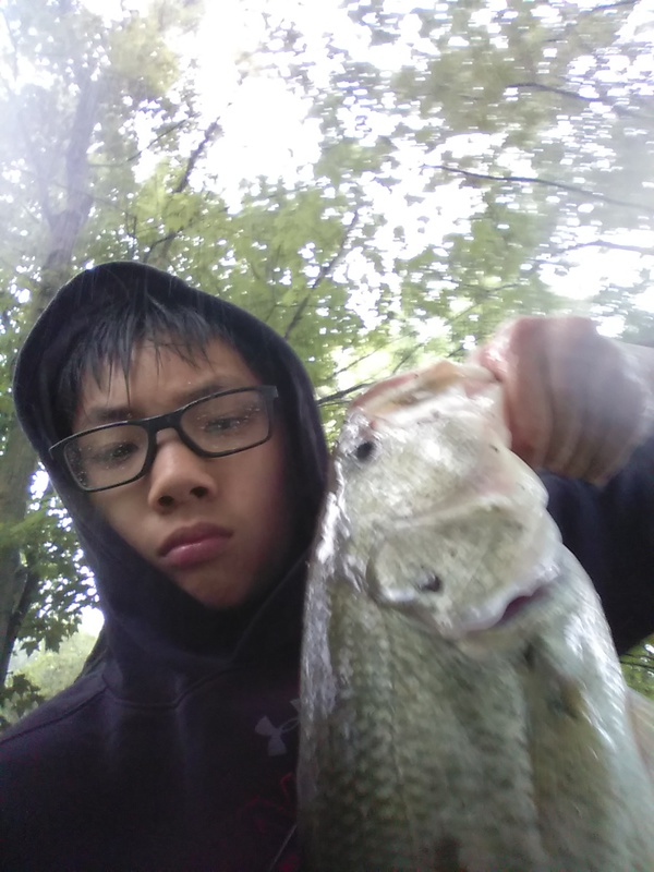 A photo of Ryan Pan's catch