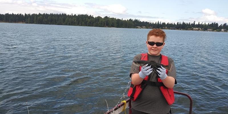 A photo of Shane Burdick's catch