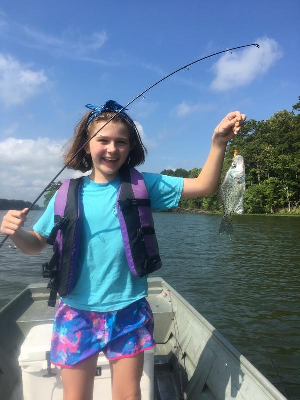 A photo of Robert Garrison's catch