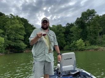 A photo of Matt Goetz's catch