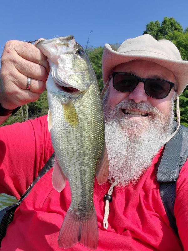 A photo of John Horner's catch