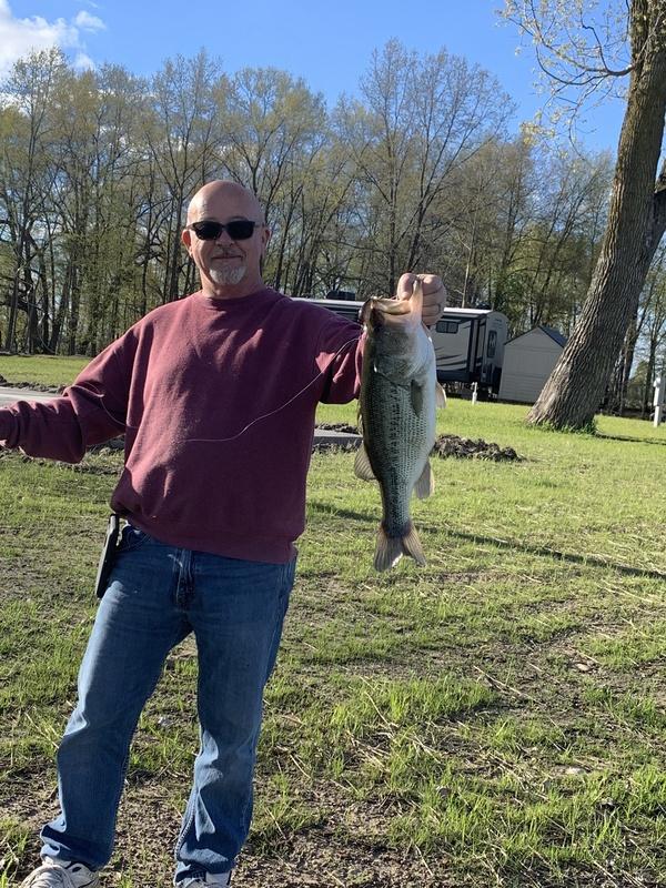 A photo of Duane Berney's catch