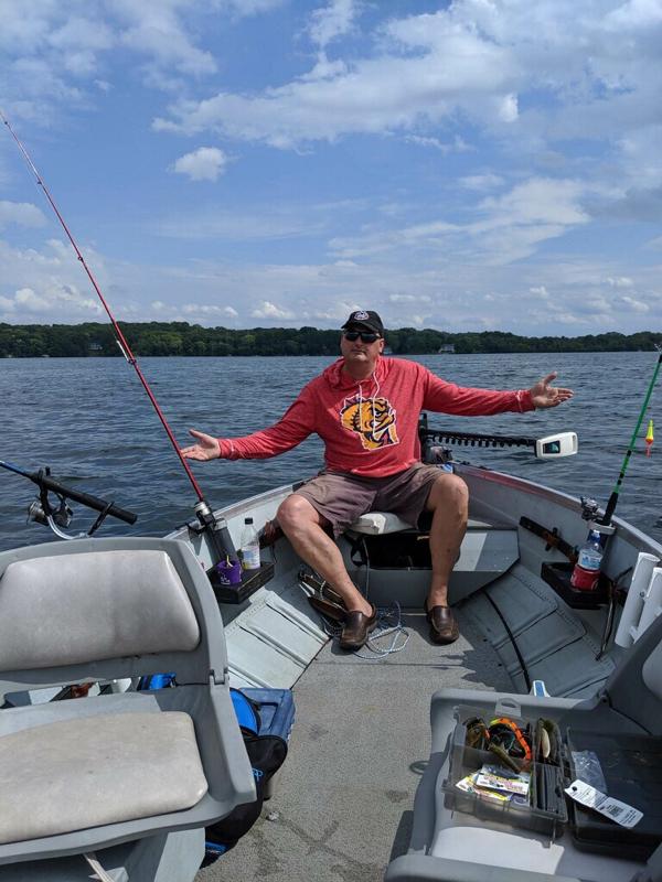 A photo of John Infante's catch