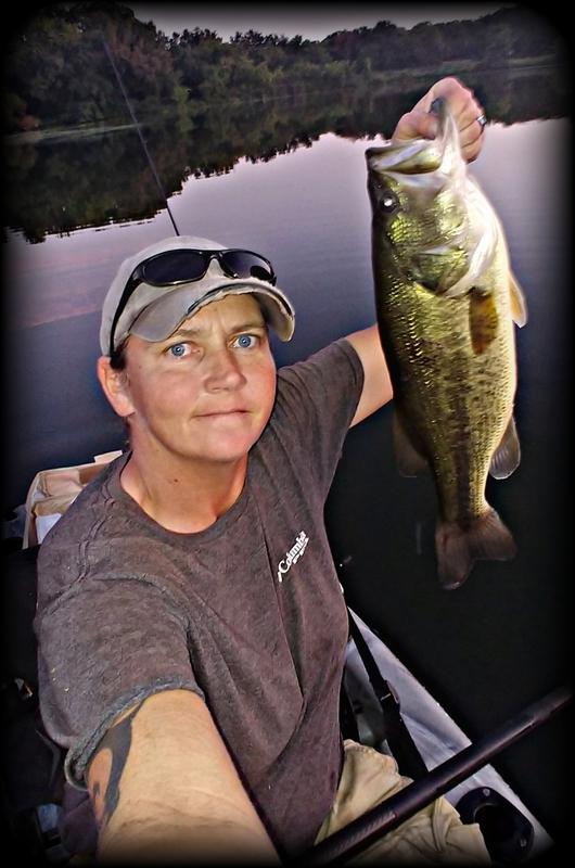 A photo of Tonya  Bethune 's catch