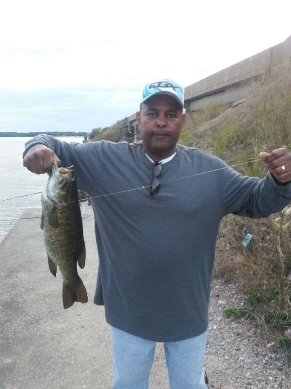 A photo of Darren Ellis's catch