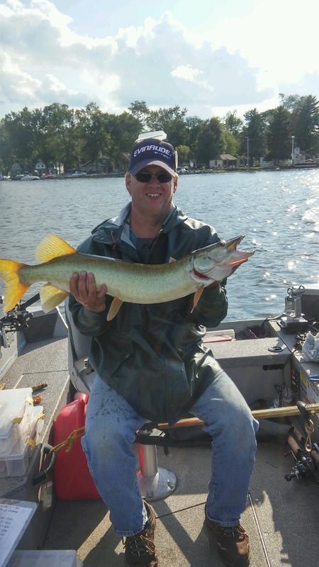 A photo of Daniel Lutton's catch
