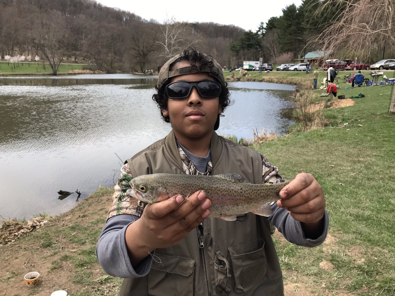 A photo of Tarik Abdel Aziz's catch