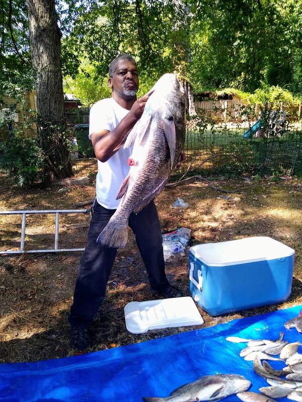 A photo of Anthony Batchelor's catch