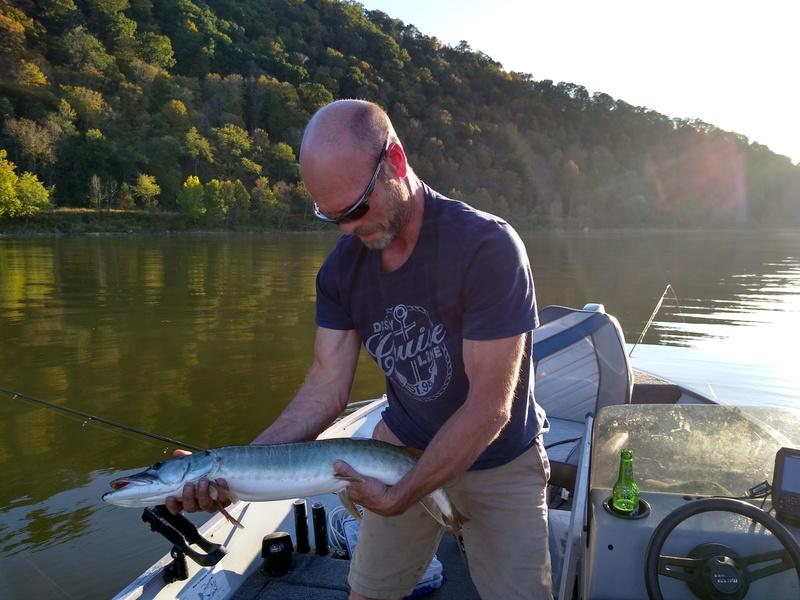 A photo of Bradly Hessom's catch
