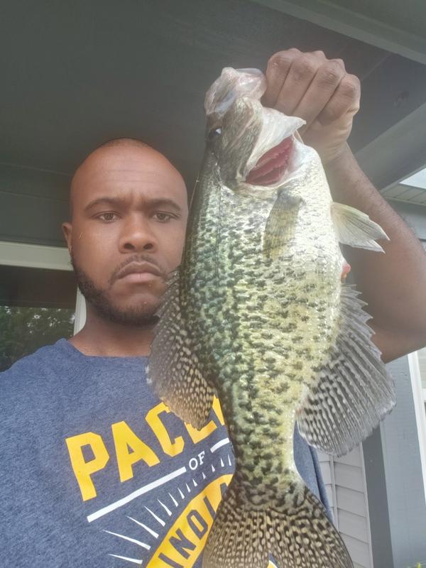 A photo of Jonathan Thurman's catch