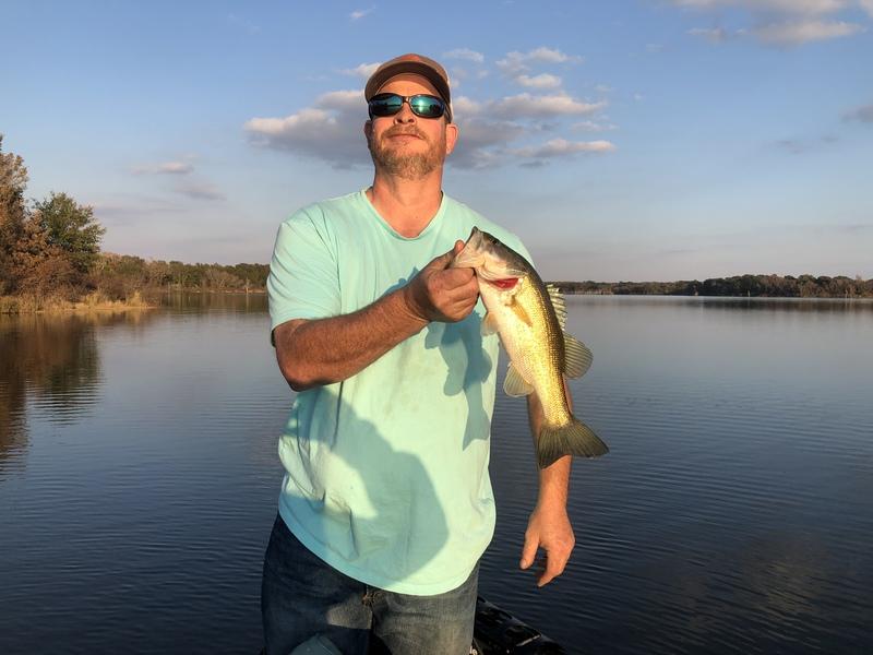 A photo of matthew barnard's catch