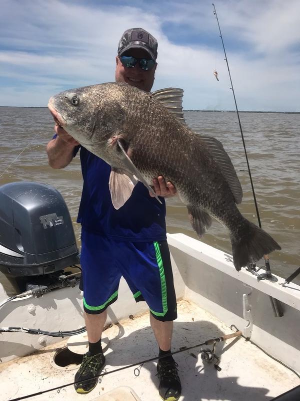 A photo of yvonne tillman's catch