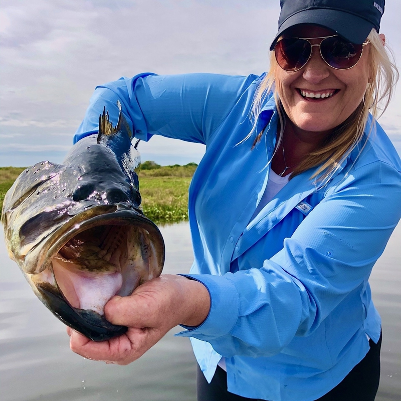 A photo of Debbie Ferguson's catch
