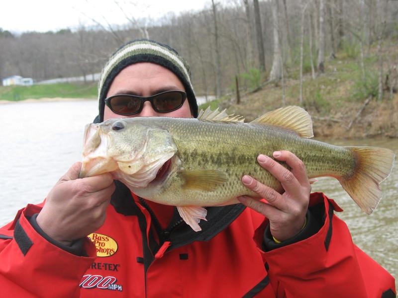 A photo of Mark Cornstubble's catch