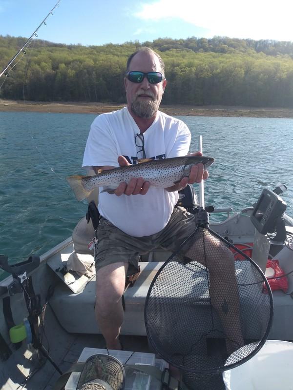 A photo of Arthur Huttemeyer Sr.'s catch