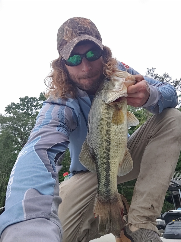 A photo of Mark Whitten's catch