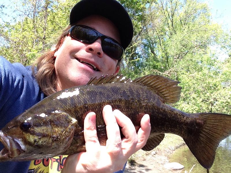 A photo of Page Berkholz's catch