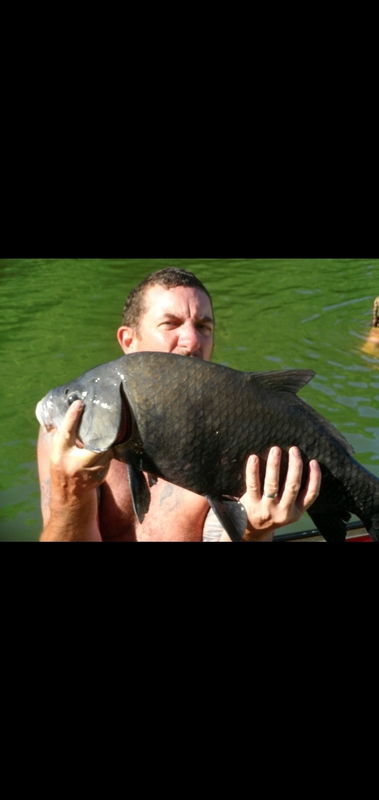 A photo of Brian Walter's catch