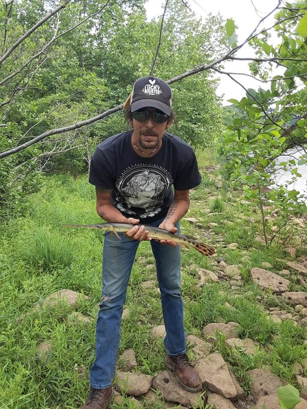 A photo of Matt Cavallo's catch