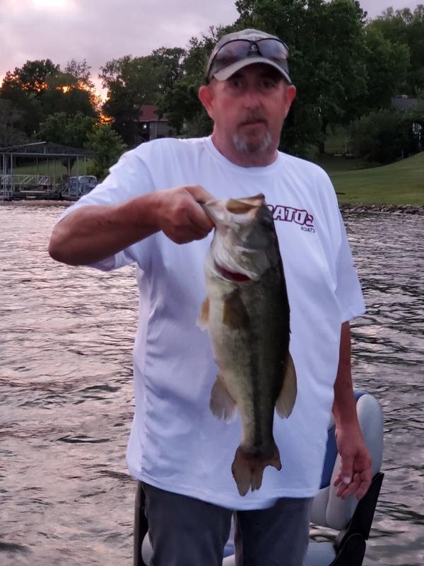 A photo of David Jones's catch