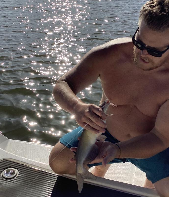 A photo of Gabe Denton 's catch