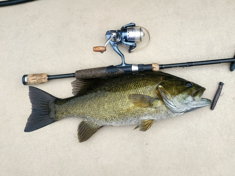 A photo of Pete Lyden's catch