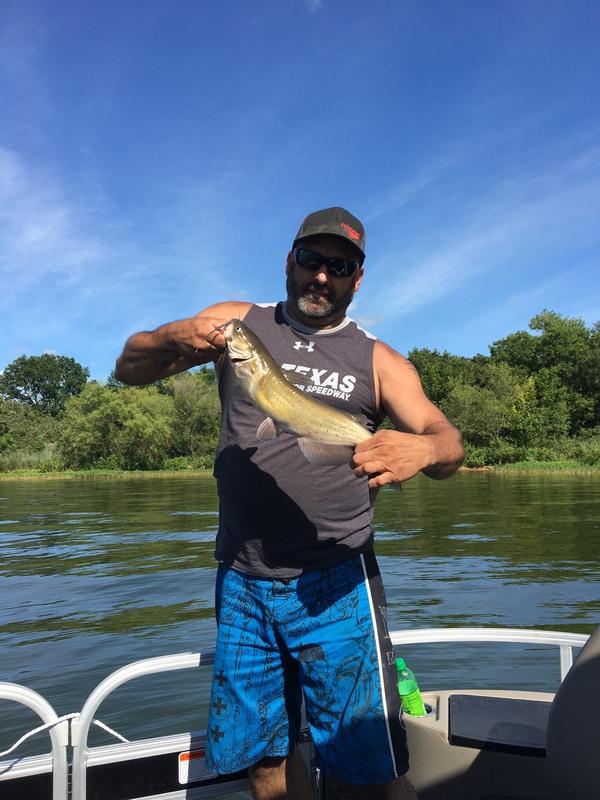 A photo of Brandon Wasland's catch