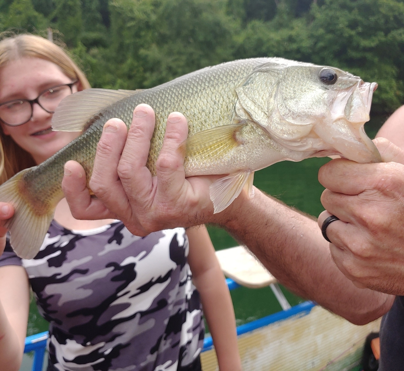 A photo of Angela Richard's catch