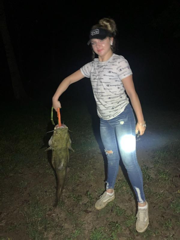A photo of Jenna Camptella's catch