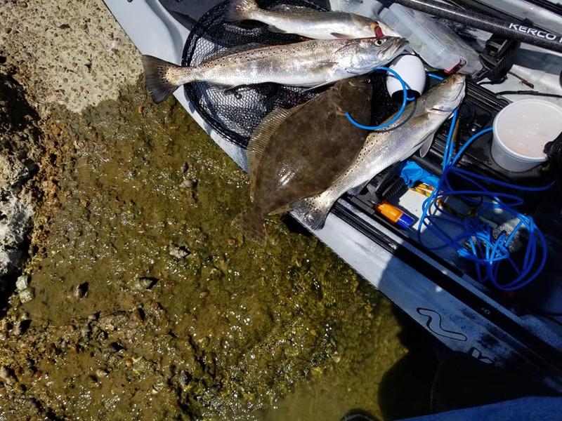 A photo of David Garcia's catch