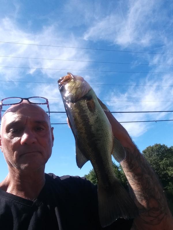 A photo of Joseph Belanger's catch